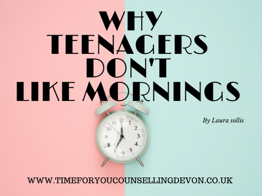 Why Teenagers don't like mornings