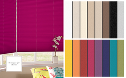 Calypso Blackout Pleated Blinds