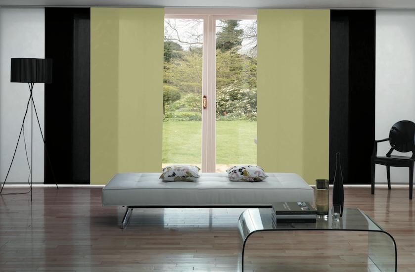 Panel glides blinds