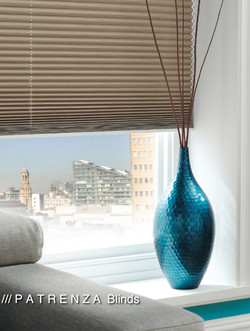 Pleated blinds blackout