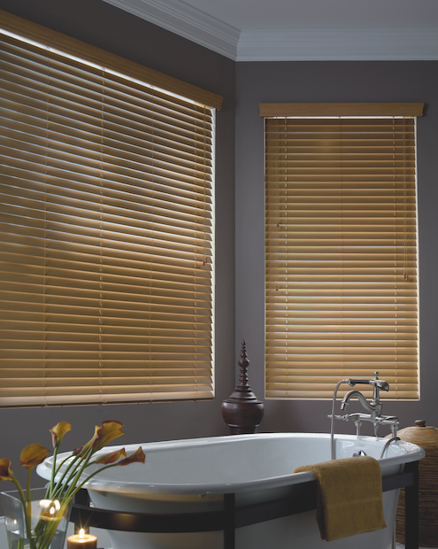 Venetian Blinds Synthetic woodlook
