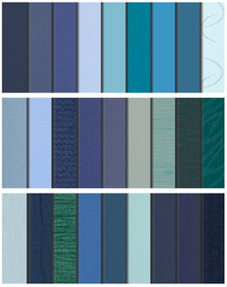 the Blues Collection- Roller Blinds