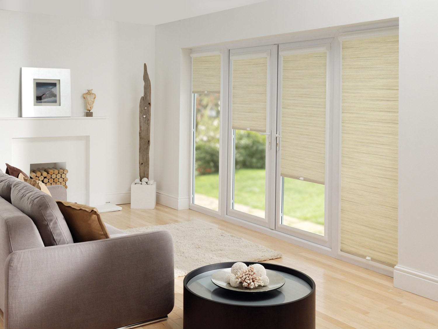 UPVC doors and window blinds