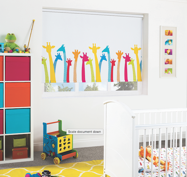 Printed Roller Blinds Kids