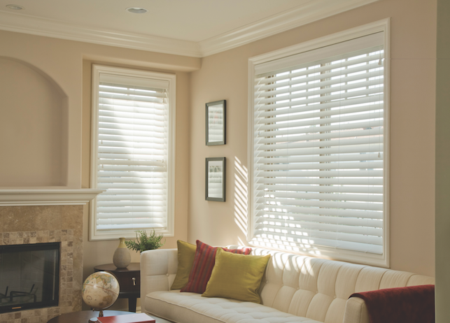 Venetian Blinds on whites