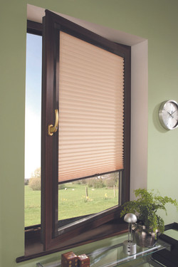 Honeycomb blinds perfect fit