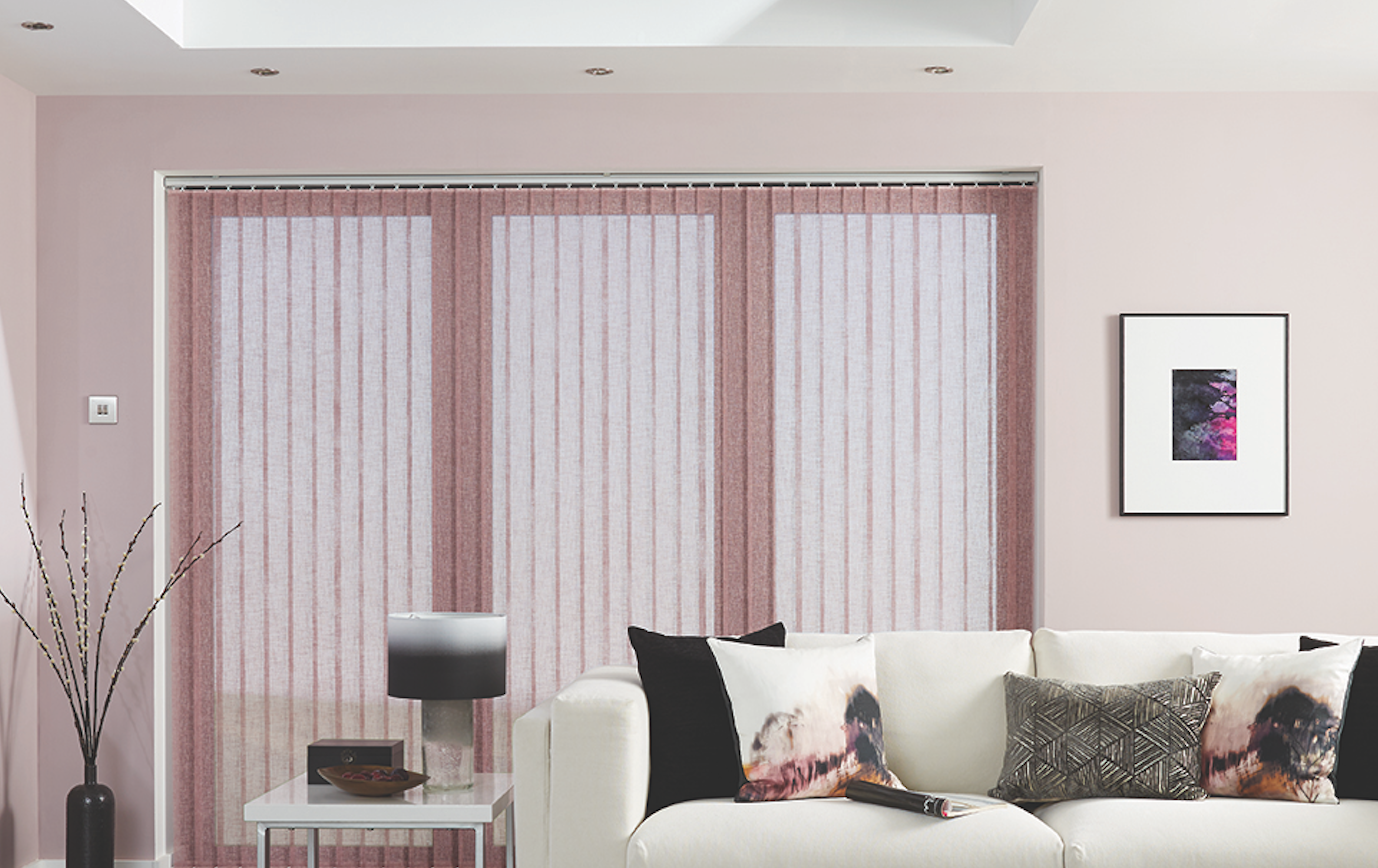 Vertical Blinds Translucent