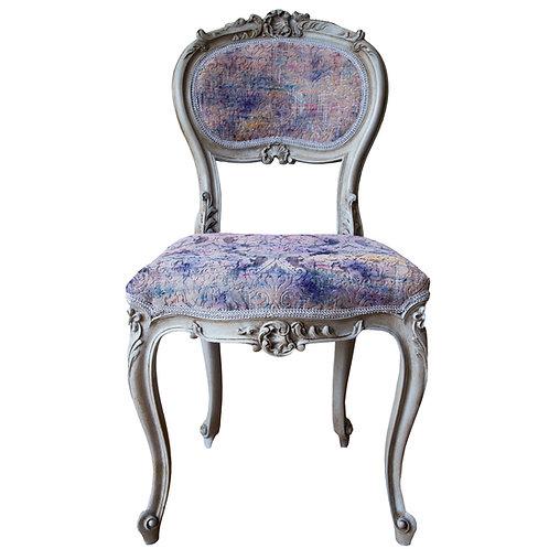 Lavender Georgian Side Chair