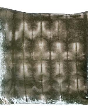 Moss Forest Silk Velvet Cushion
