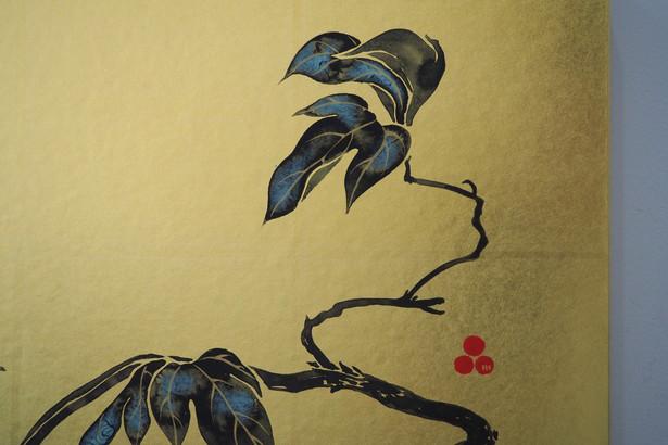 牡丹(細部)