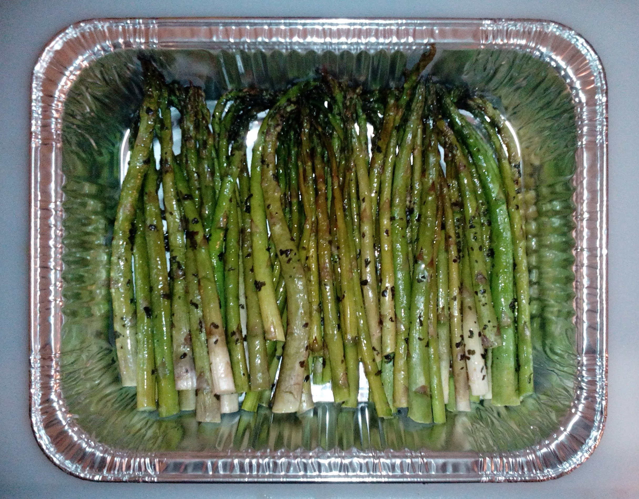 Catering Grilled Asparagus