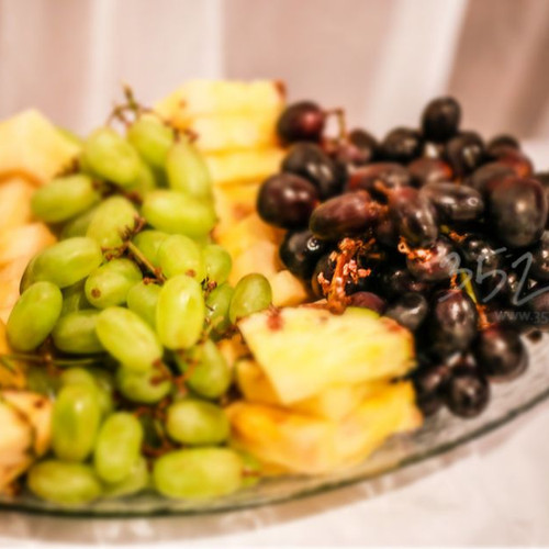 Fruit table for weddings