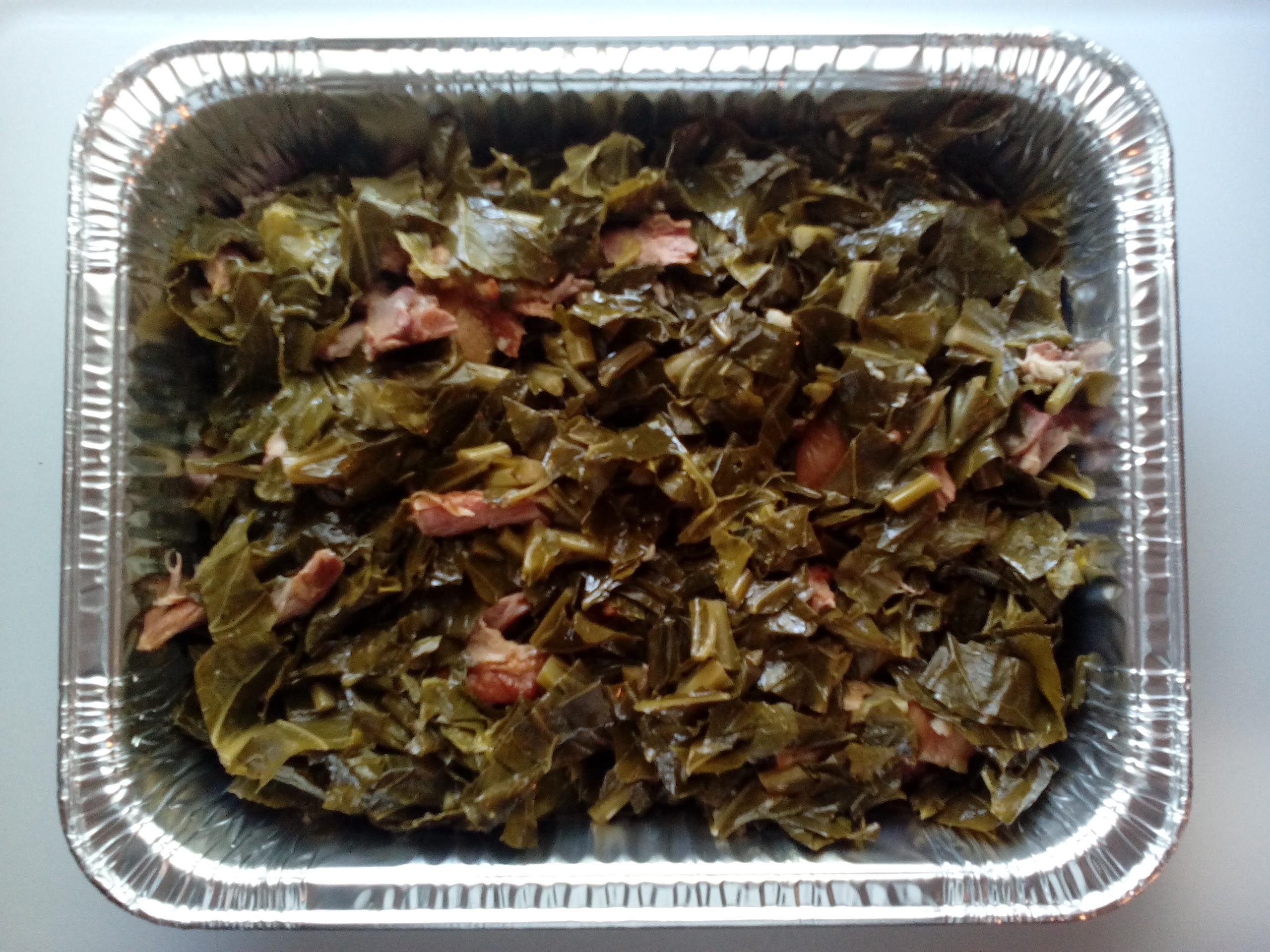 Catering Greens with Meat