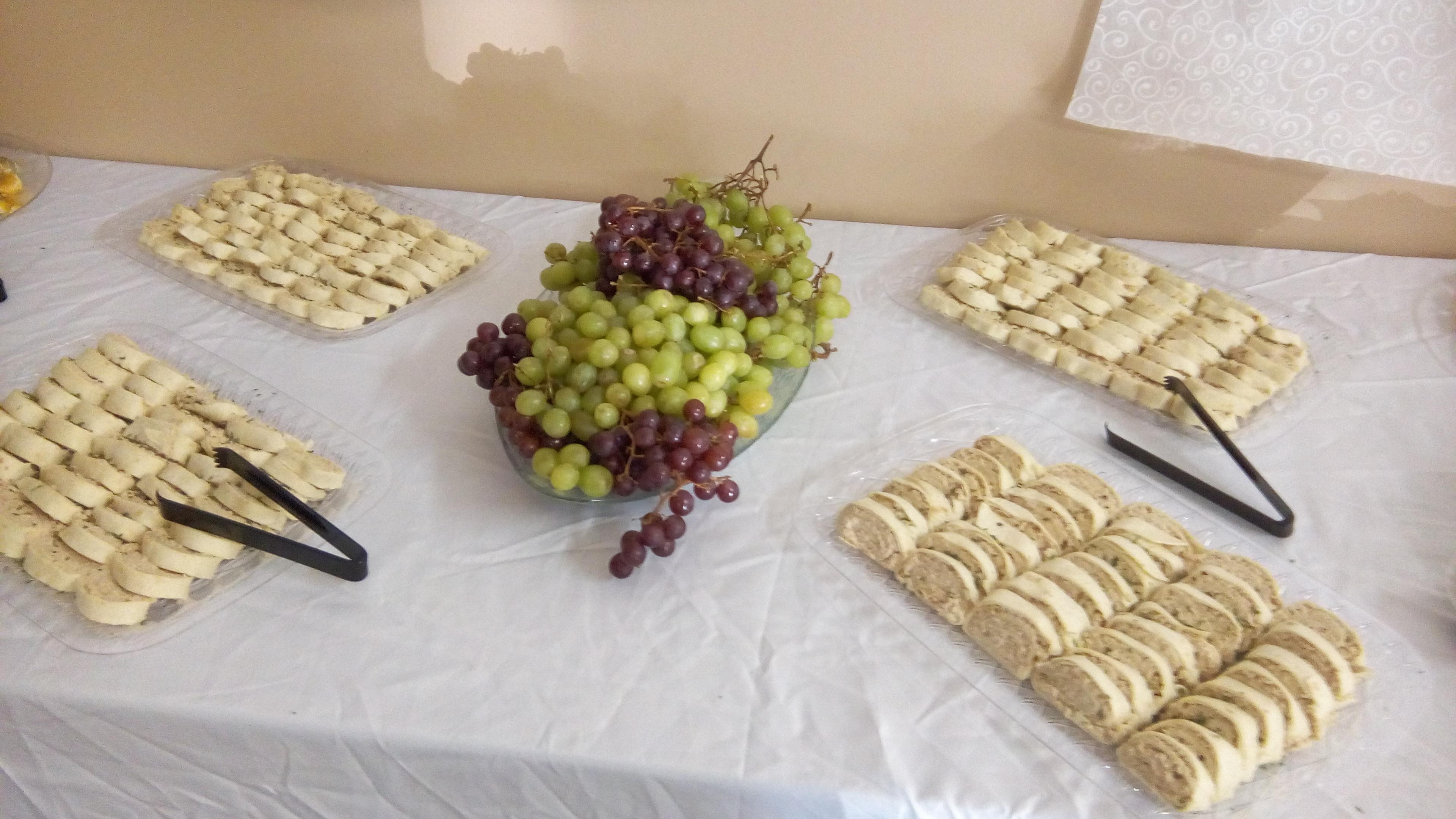 Food for wedding