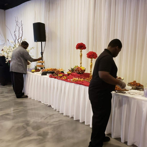 Chef catering wedding