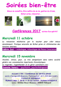 Conférence Villejuif - 11 octobre 2017