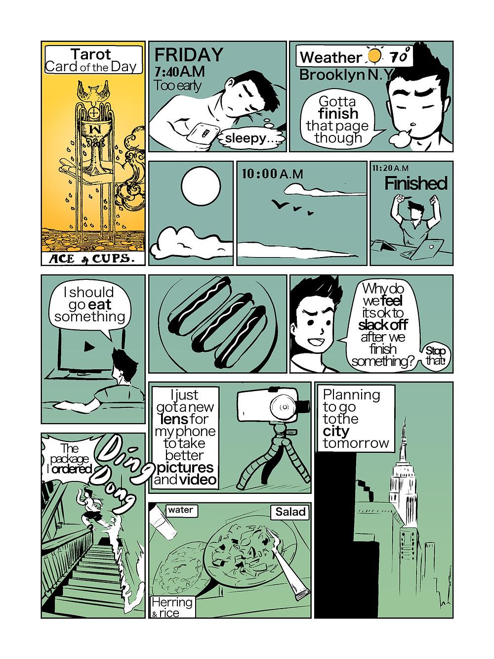blog comic daily