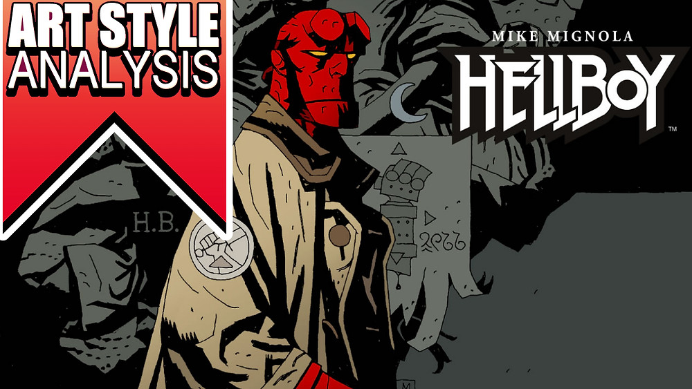 Hellboy art style analysis