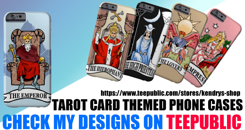 tarot car phone case designs