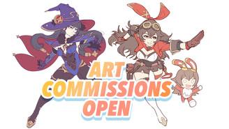 Art Commissions open