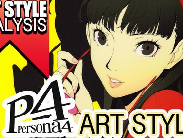 Art Style Analysis- PERSONA- Clip Studio Paint