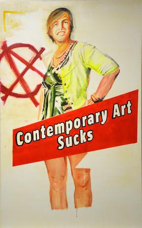 """Contemporary Art Sucks"""