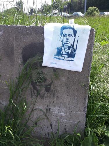 Ludwig Wittgenstein Street Art Action