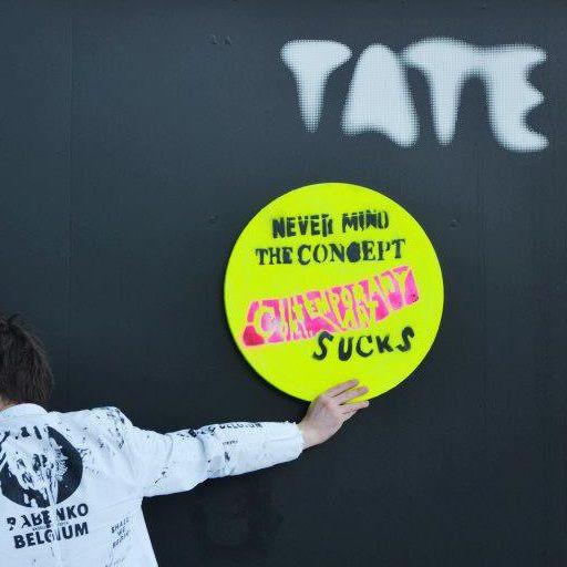 performance in Tate Modern London UK