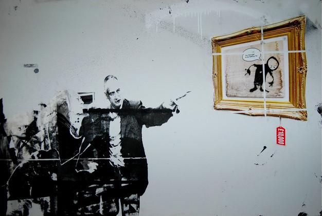 """Banksy Tuymans"""