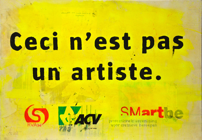 """""""Ceci n'est pas un artiste"""""""