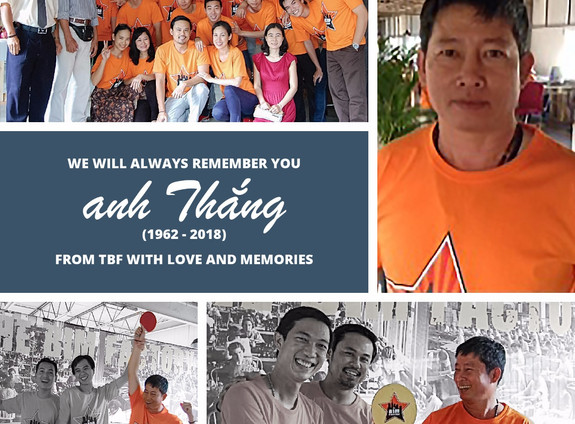 Farewell to a dear friend and our colleague - anh Thắng