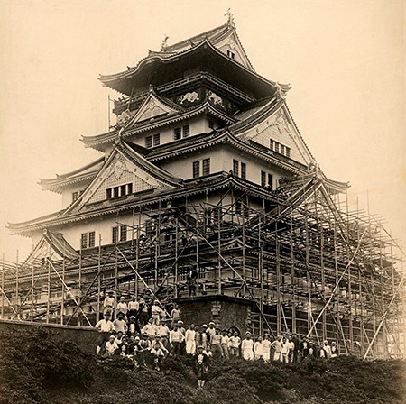 The Main Tower of Osaka Castle, one of the first projects of Obayashi | Obayashi