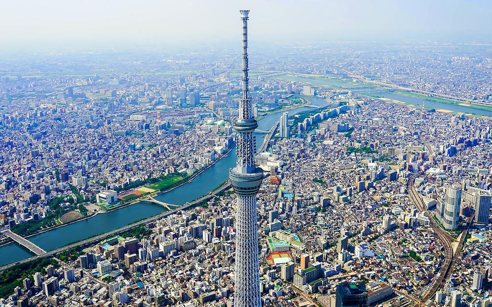 The Tokyo Skytree panorama view | Pixabay