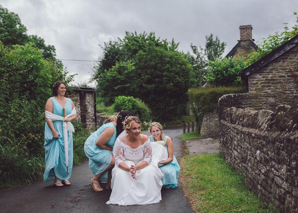 Treadam Barn - Wales Wedding Photographer Jamie Denny Photographer
