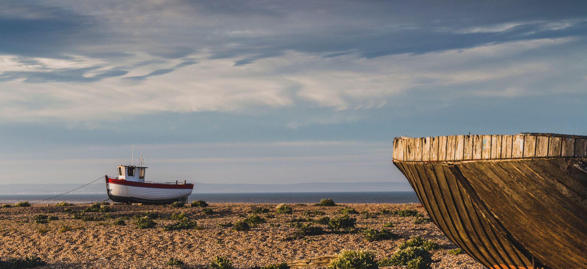 Dungeness Boats - Kent - Landscape Photography - Jamie Denny Photography