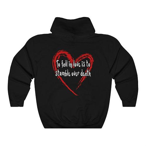 Love is death hoodie