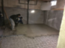concrete flat work