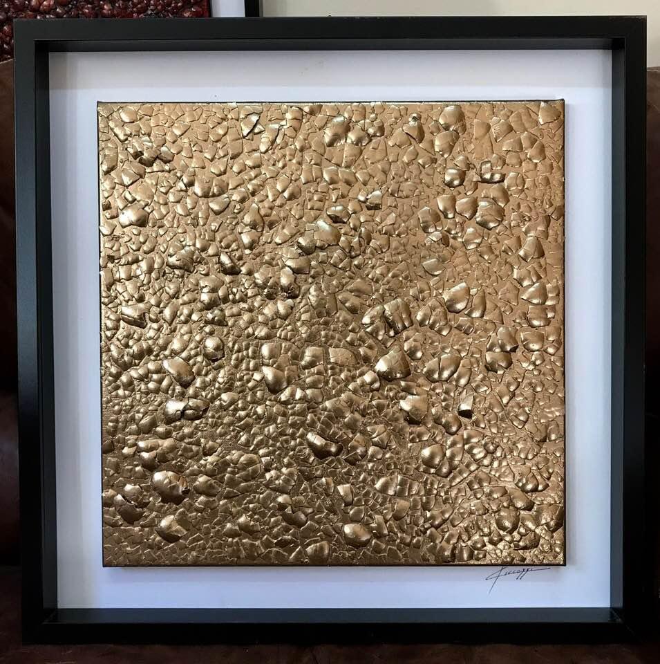 giancarlo ciccozzi tecnica mista oro