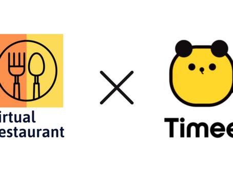 株式会社バーチャルレストランと株式会社タイミーが業務提携