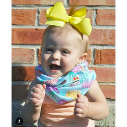 How cute is she?! Just to adorable in our yellow ribbon bow from the shop! Remember today is the LAS