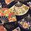 Thumbnail: Makura grand éventails bleus