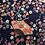 Thumbnail: Makura éventails fleuris