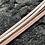 Thumbnail: Bracelet cuir rose pâle