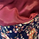 Thumbnail: Snood fleur bleue et rose