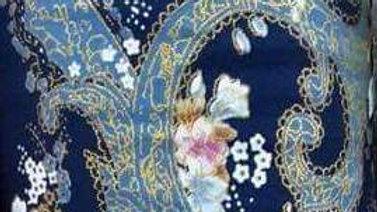 Makura bouquet bleu