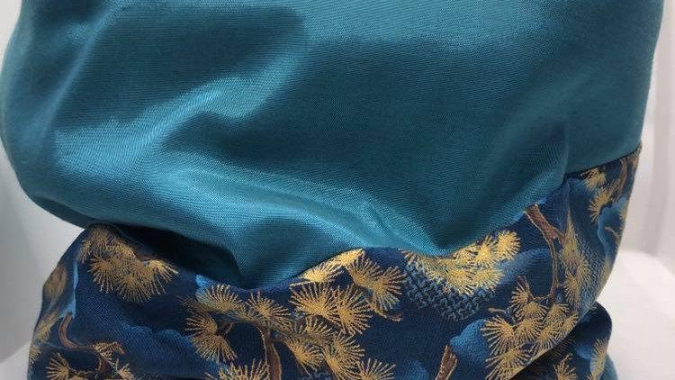 snood bonzaï turquoise