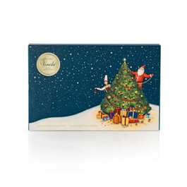 Cioccolatini Chocomousse, Cubotti e Tartufini in Scatola Regalo Albero di Natale 250g