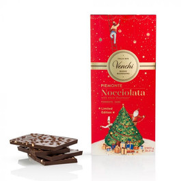 Maxi Tavoletta Nocciolata Fondente di Natale 800g