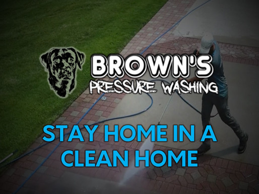 Stay Home in a Clean Home