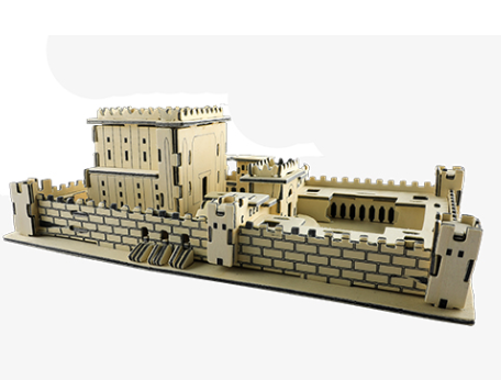 The Temple 3D Puzzle